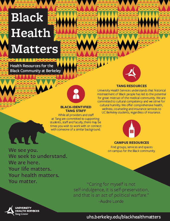 black health matters flier