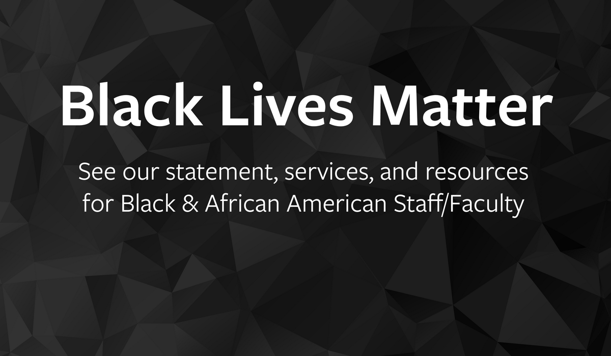 Be Well at Work - Black Lives Matter Resources