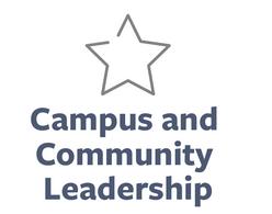 Campus and community leadership AOD icon