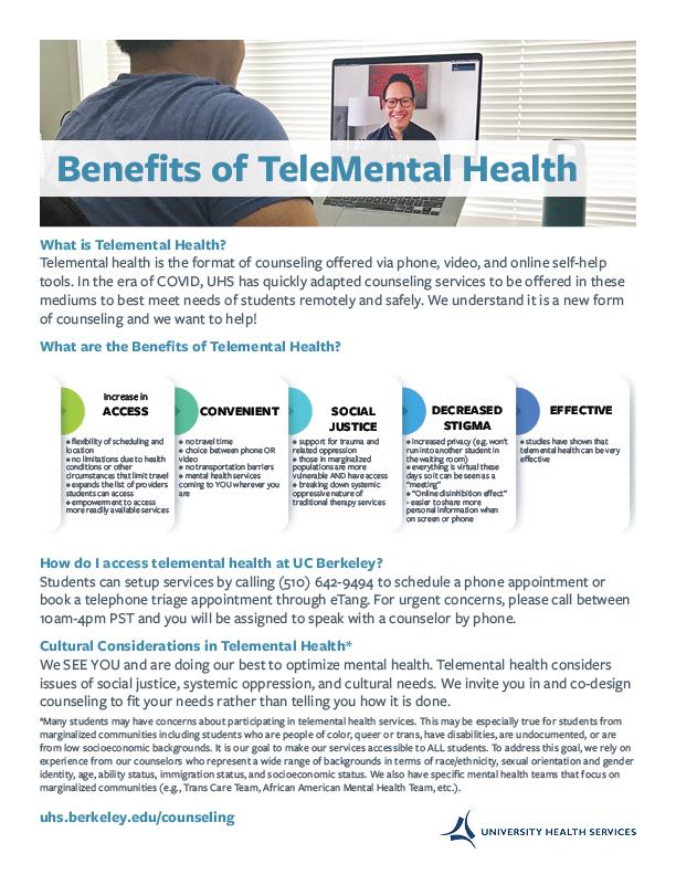 Telemental Health Flier