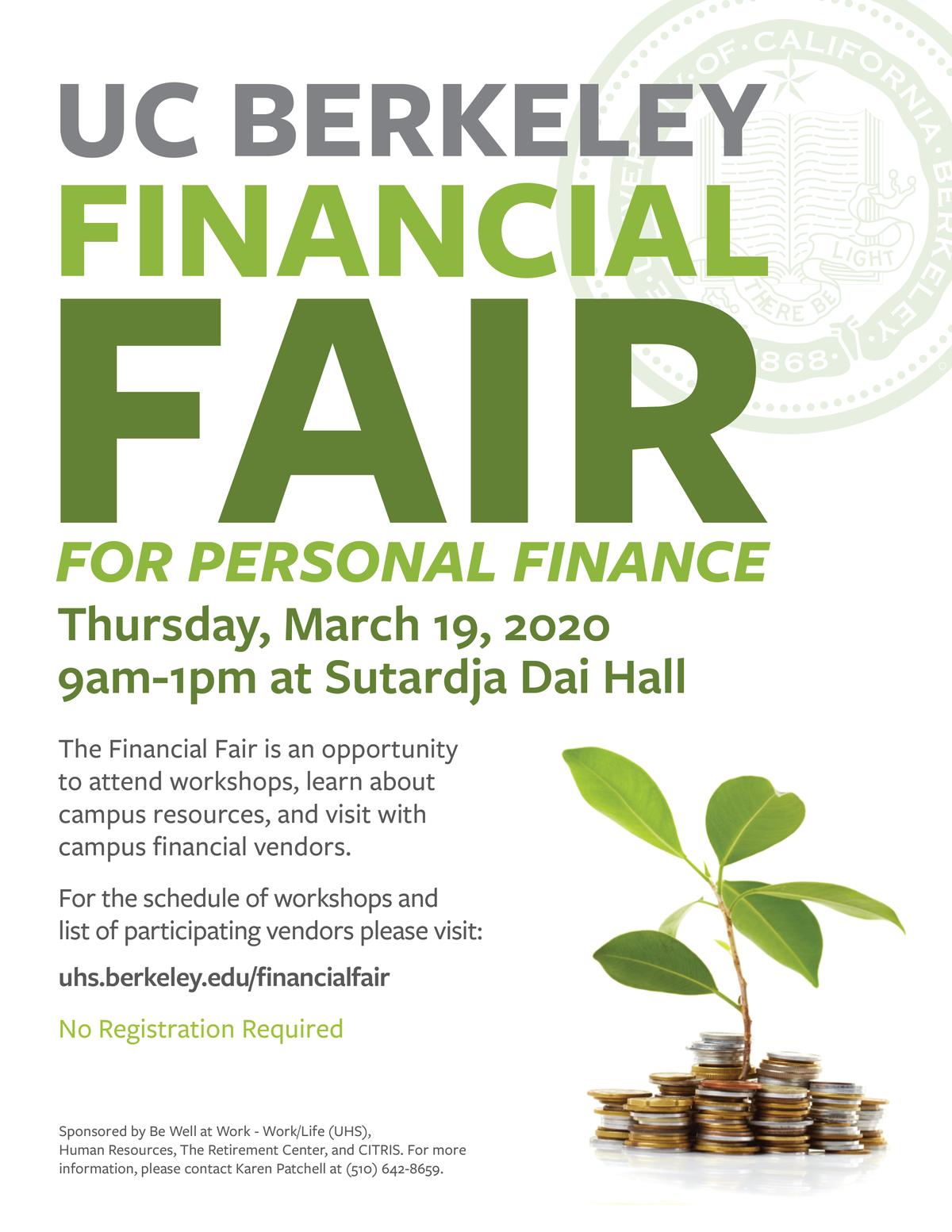 Financial Fair Flier