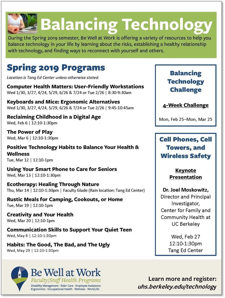 Balancing Technology Flyer