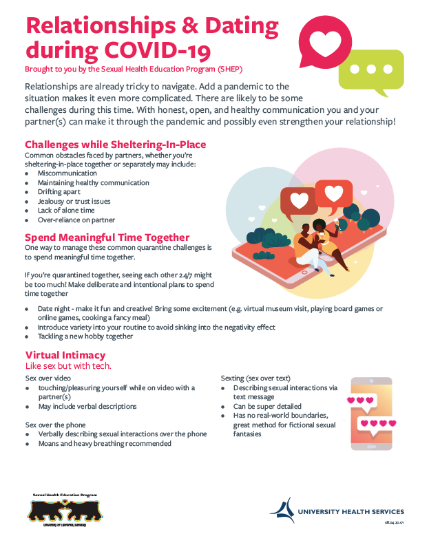 COVID and Dating Handout
