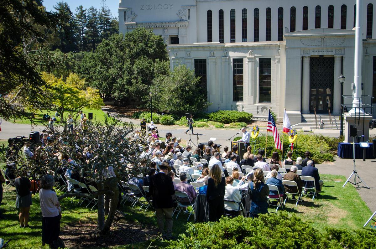 Campus memorial photo