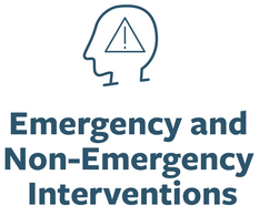 Emergency and non emergency inteventions
