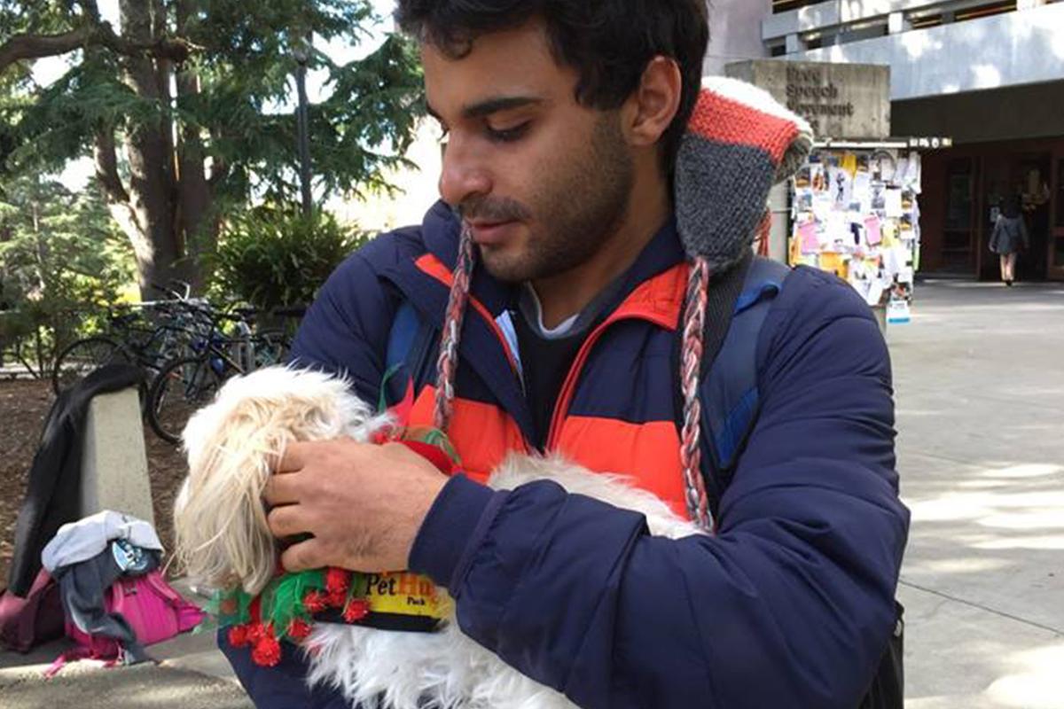 Pet Hugs at Moffitt - December 2016
