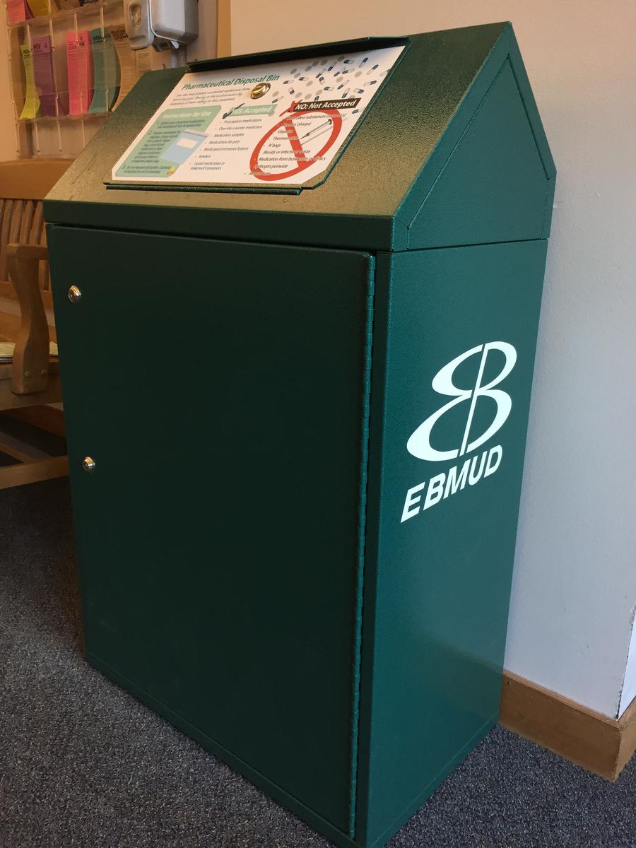 pharmacy disposal bin