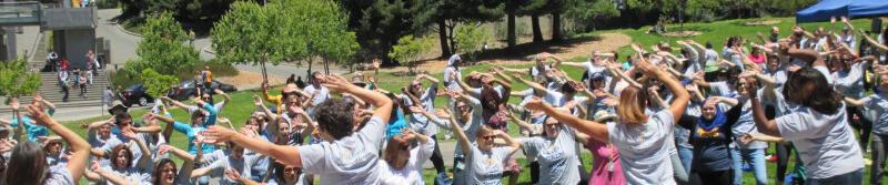 UC Walks Flash Mob Photo
