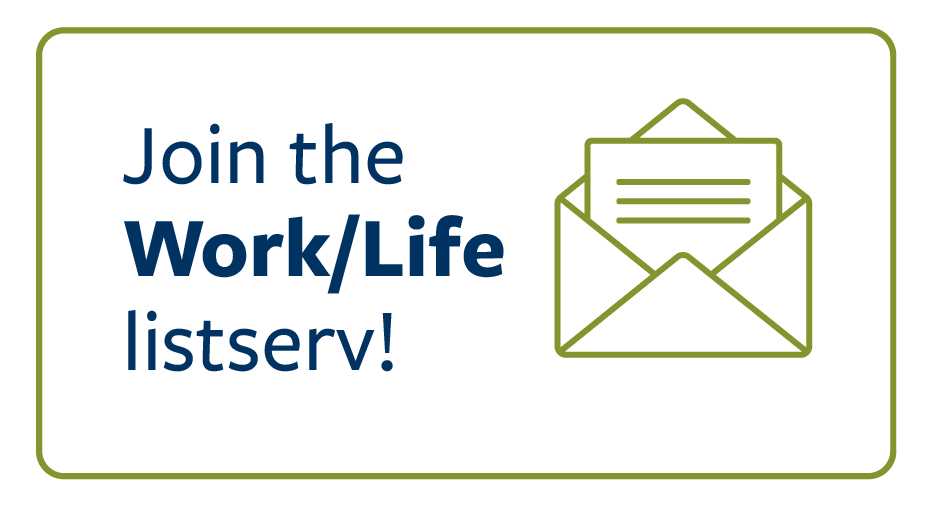 Stay connected with the work life newsletter