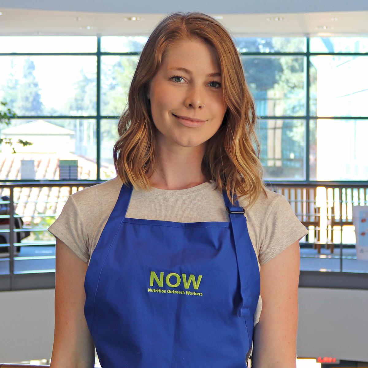 Nutrition Outreach Worker, Maddie