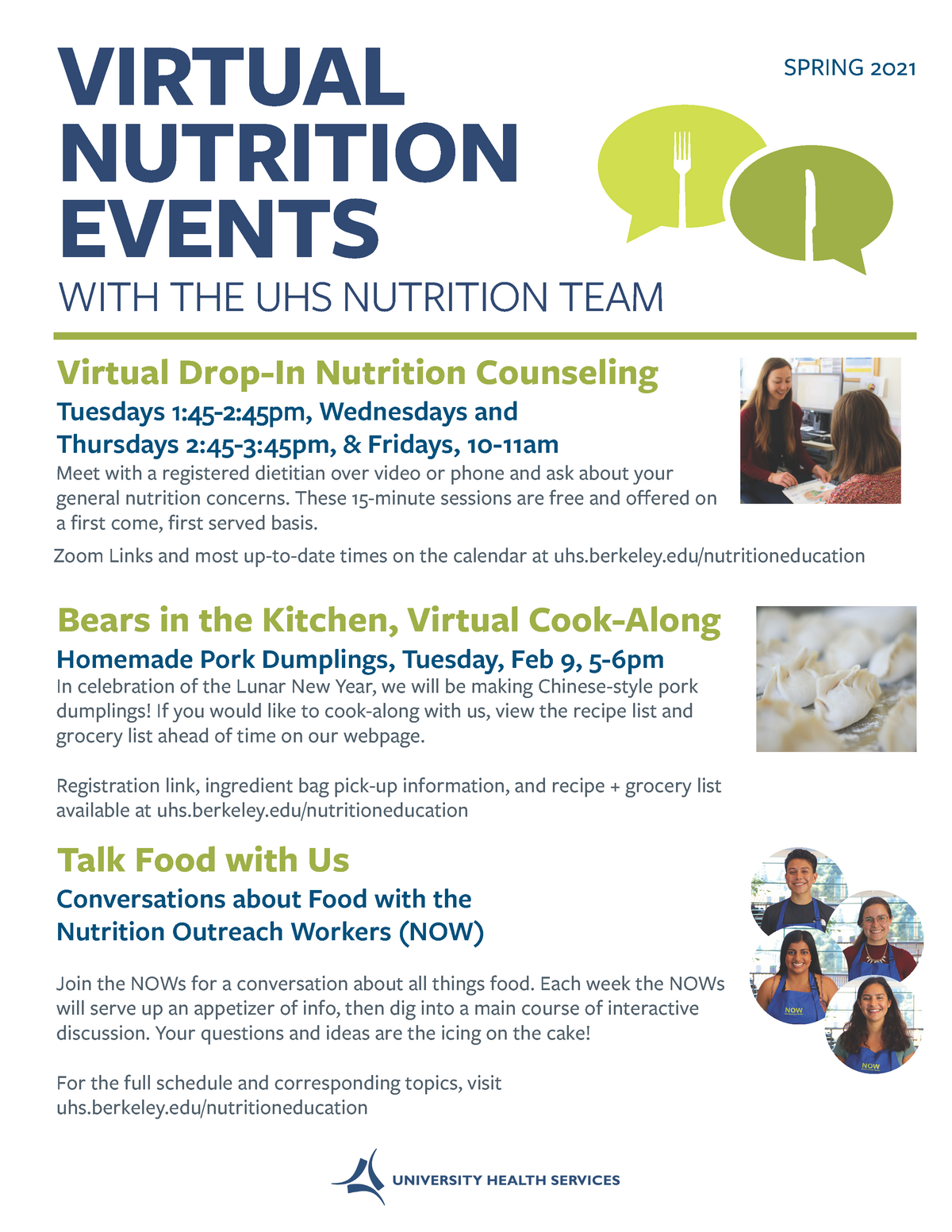 Nutrition General Flyer