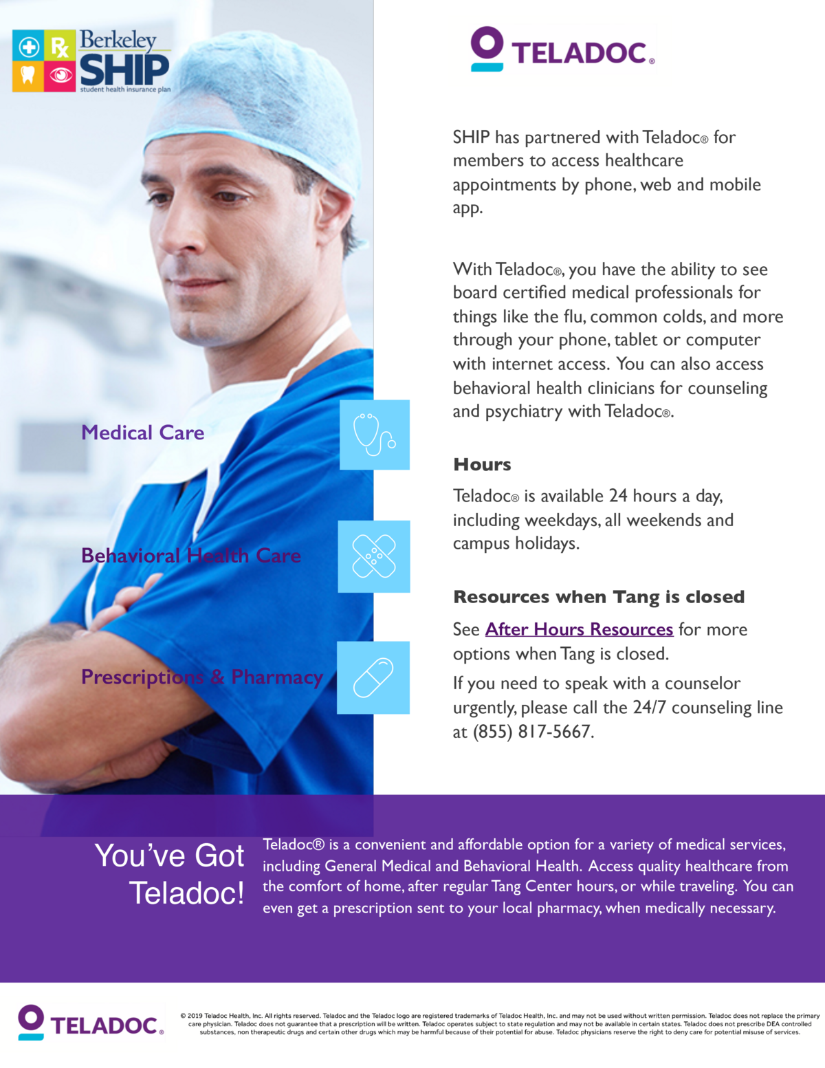 Local Emergency and Urgent Care Centers (Off Campus