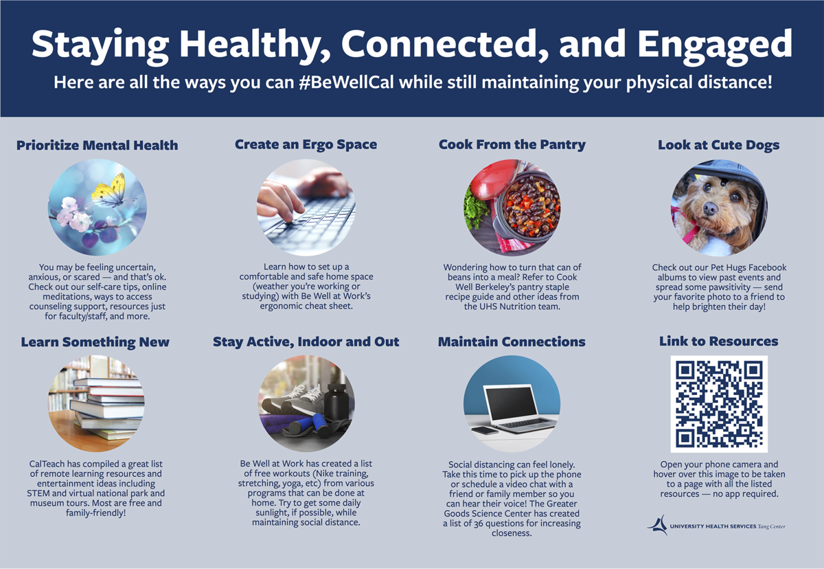 Staying Healthy Connected Engaged