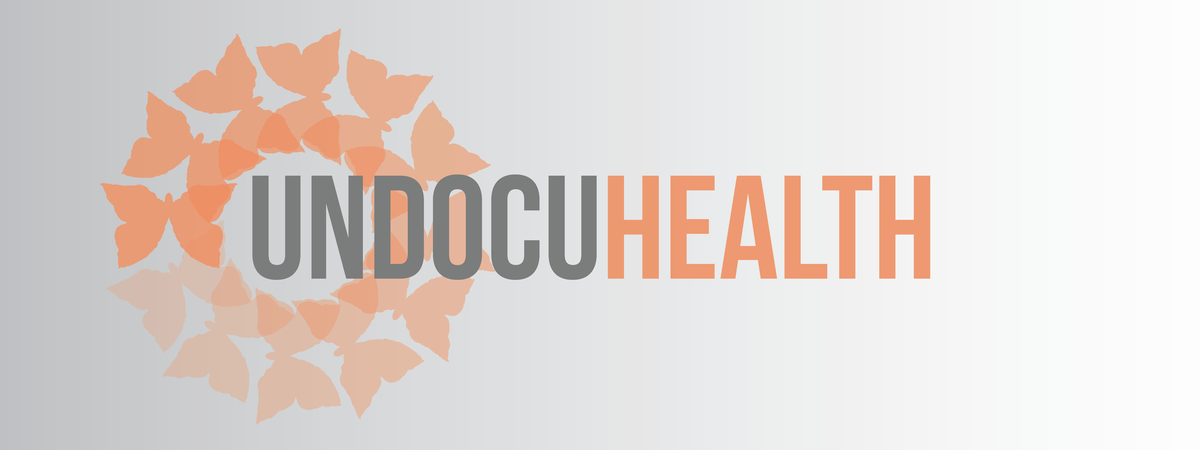 Undocu Health Header with butterflies