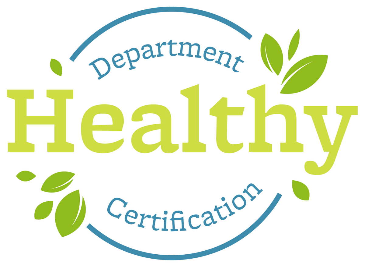 Healthy Department Certification Logo