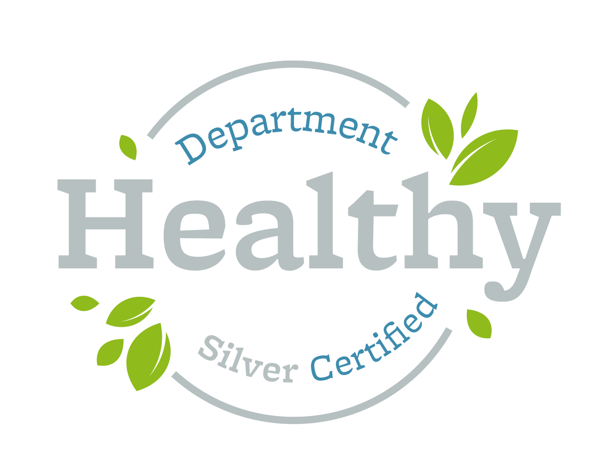 Healthy Department Certification - Seal, Silver Award