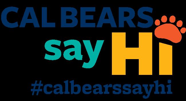 Cal Bears Say Hi logo