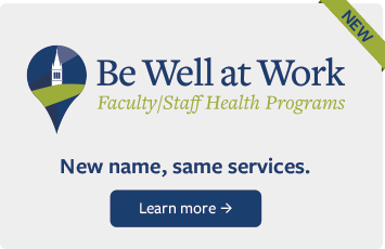 be well at work announcement - new name, same services