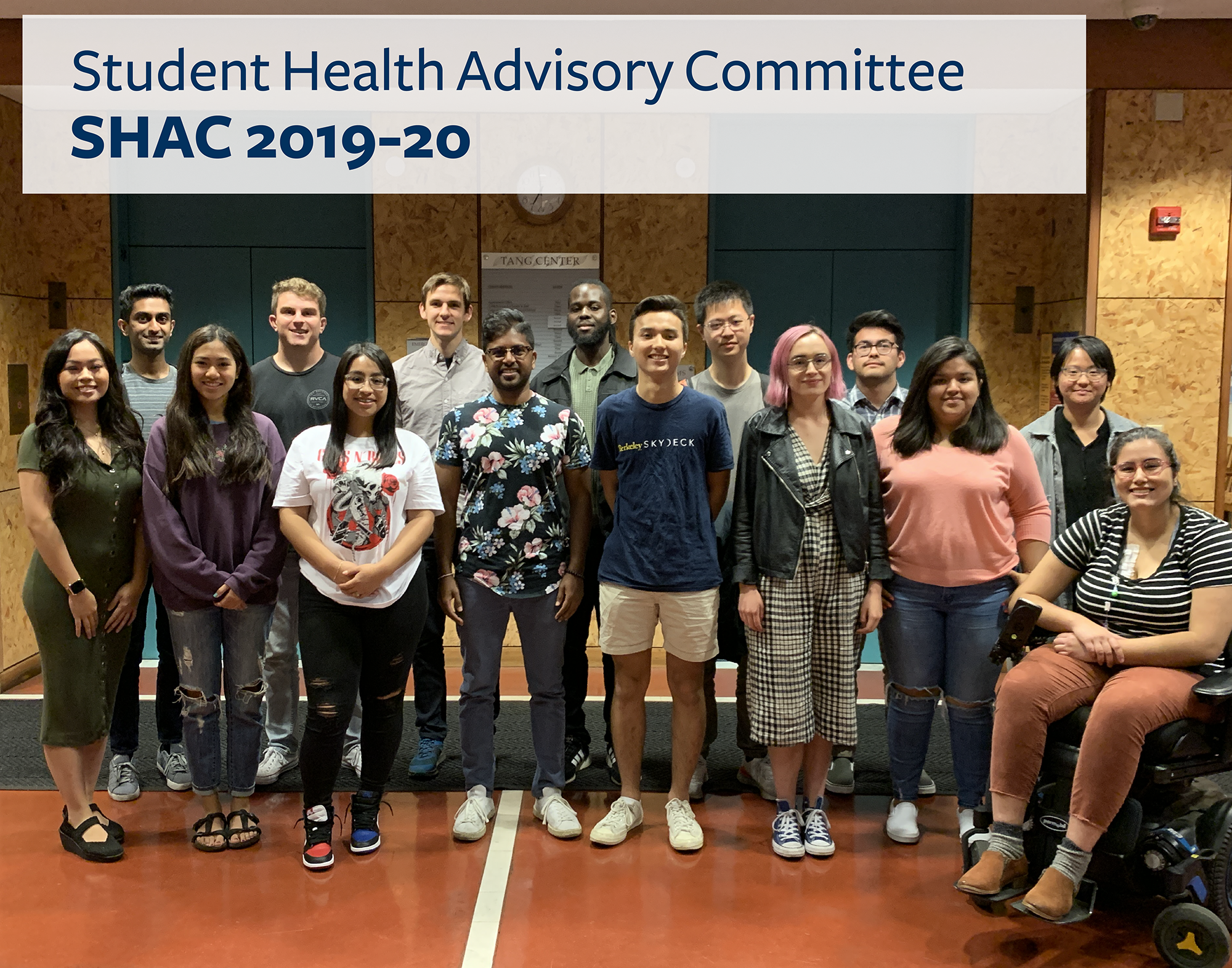 SHAC 2019-20 group photo