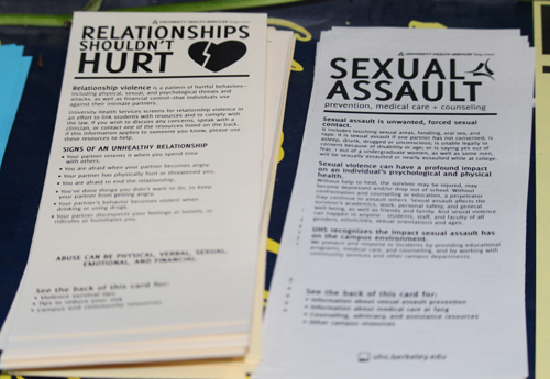 Health ed card photos - Relationships shouldn't hurt