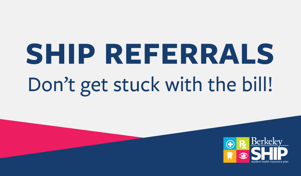 SHIP referrals