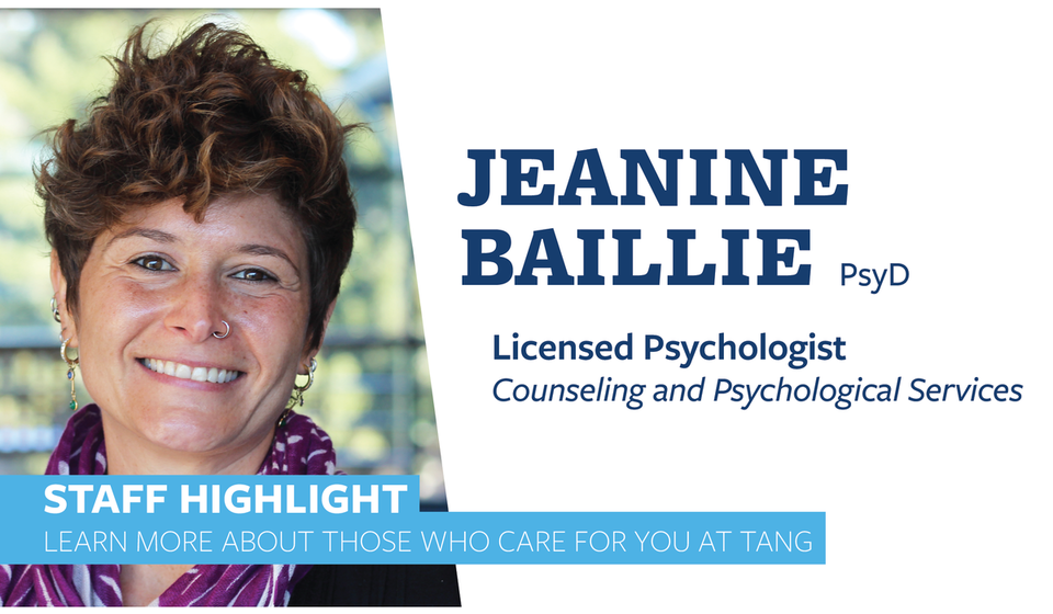 Staff Highlight - Jeanine Baillie
