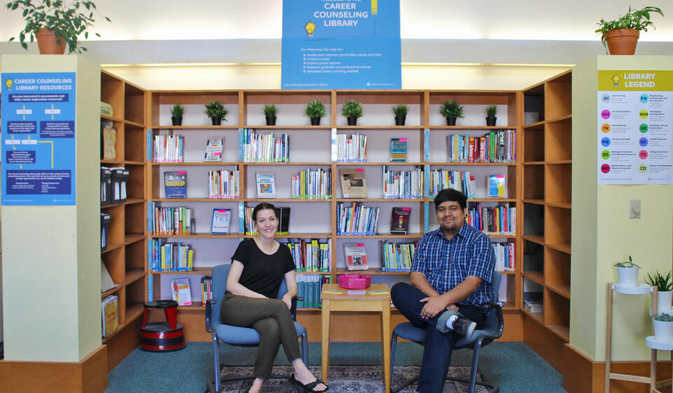 Photo of Career Counseling Library