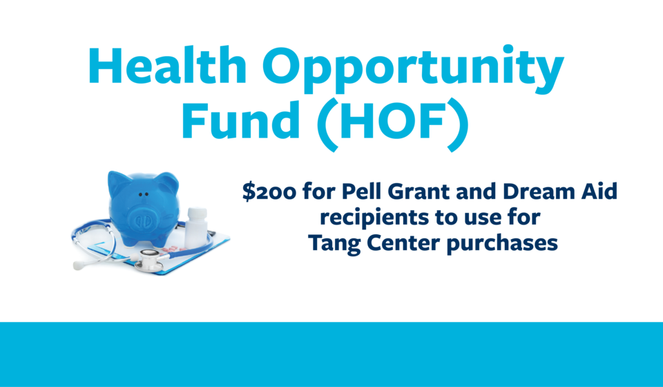 Learn how to use the health opportunity fund!