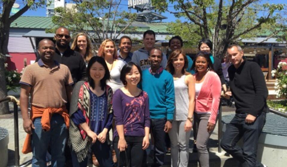 Former Interns/Fellows at a Reunion