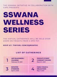CAPS SSWANA Workshops Flier