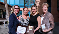 American Heart Association Platinum Fit Friendly Award Photo