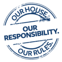Our House campaign logo