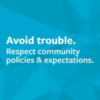 Avoid trouble