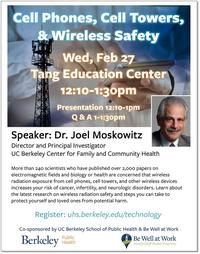 Cell Phones, Cell Towers and Wireless Safety Flyer