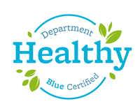 Healthy Department Certification - Seal, Blue Award