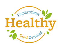 Healthy Department Certification - Seal, Gold Award