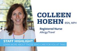 Colleen Hoehn staff highlight