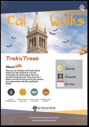 Halloween Walk on October 31
