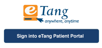log in to etang patient portal