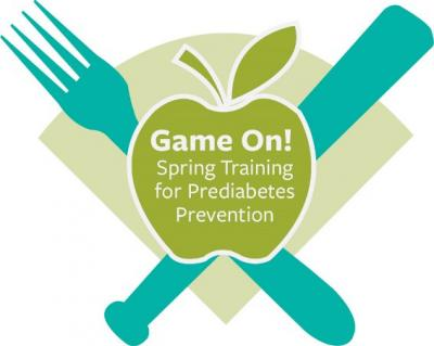 Game On! Spring Training for Prediabetes Logo
