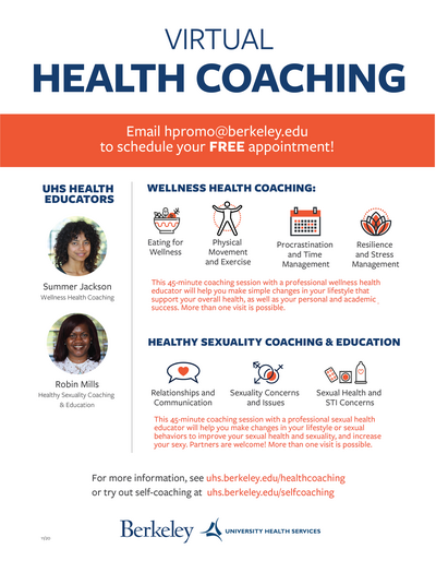 Health Coaching Flier