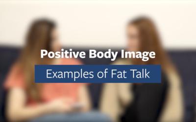 Combating Fat Talk Video