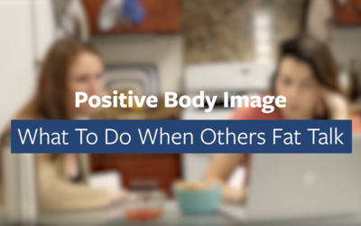 Combating Fat Talk from Others Video