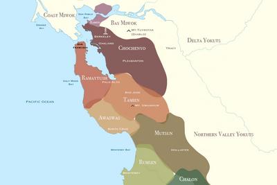 Ohlone Map