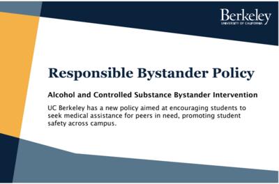 Responsible bystander postcard summary