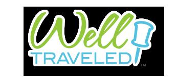 Well Traveled Logo